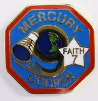 Mercury 9 Lapel Pin